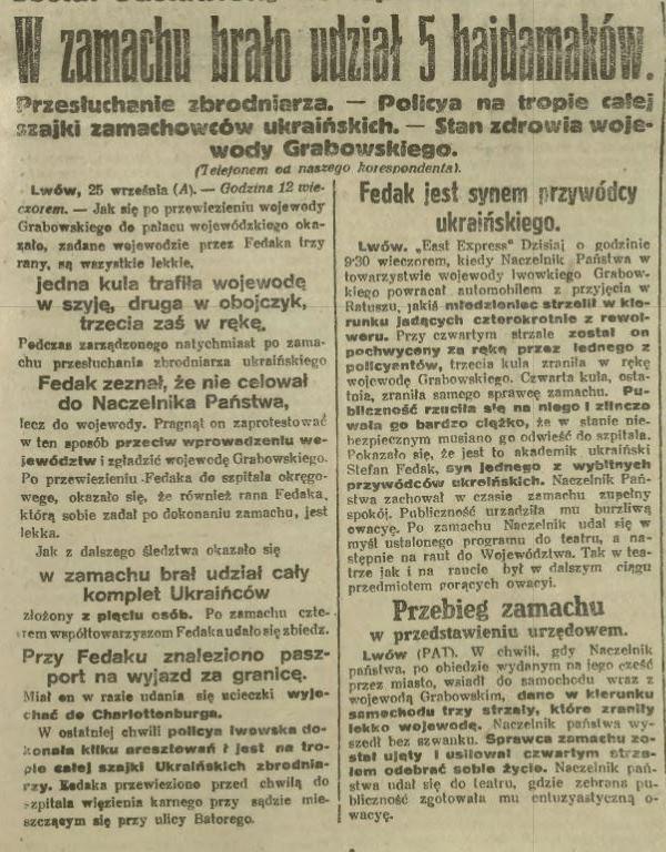 Ilustrowany Kuryer Codzienny, 27.09.1921