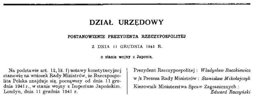 Wojna polsko-japońska